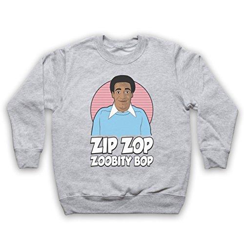 The Guns Of Brixton Bill Cosby Zip Zop Zoobity Bop Kinder Sweatshirt, Grau, 12-13 Jahren