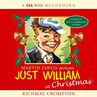 Just William at Christmas cover art