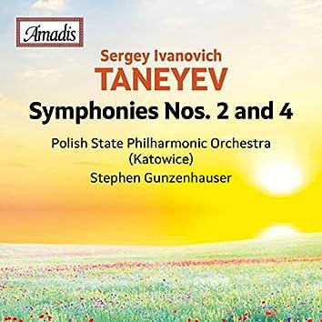 Sergey Taneyev: Symphonies Nos. 2 & 4