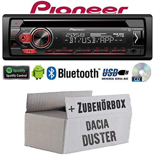 JUST SOUND best choice for caraudio Bluetooth CD//MP3//USB Autoradio Radio Kenwood KDC-BT530U Einbauset f/ür Dacia Sandero Spotify iPhone Einbauzubeh/ör Android