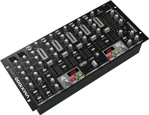 BEHRINGER VMX1000 analoog-mixer, USB 4 kanalen & meer
