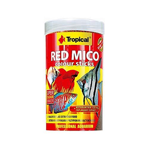 TROPICAL Red Mico Colour Stick Nourriture pour Aquariophilie 100 ML - Lot de 2