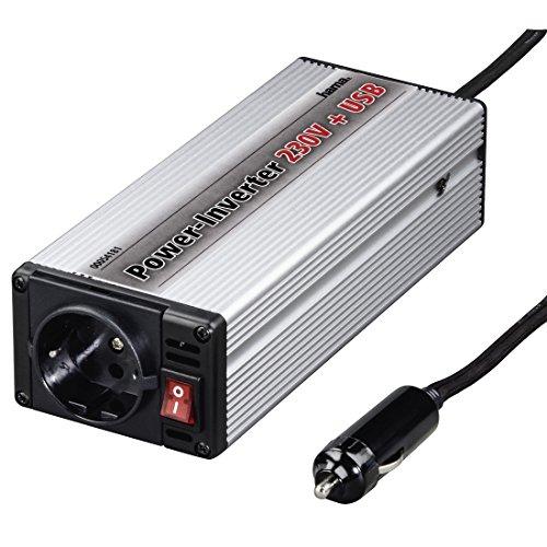 Hama - Car DC/AC Inverter Earth Contact FI, 150W, 10-15 V, 50 Hz, 375 W, 230 V, 20 MB/s