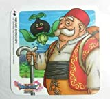 Dragon Quest XI 11 Coaster Low PS4 3DS Square Enix Cafe Limited Official F/S