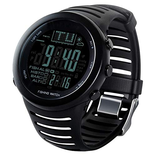 Purchase PINGTANG Men's Sports Fishing Watch, Altimeter Barometer Thermometer Weather Monitor Swiss Sensor for Climbing Hiking Outdoor Sport Digital Watch