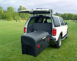 Stowaway standard enclosed hitch cargo carrier