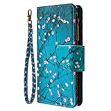 Vivo Y20 Phone Case, Multifunctional Purse Leather Flip