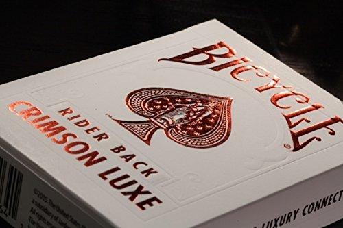 Bicycle Verso Arrière Pourpre Luxe (Rouge) par NOUS Carte À Jouer Co