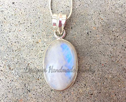 Rainbow labradorite necklace for women Natural labradorite pendant necklace Blue labradorite jewelry for her Rainbow moonstone necklace