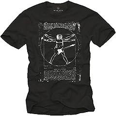 Camiseta con Guitarra Electrica DA Vinci Rock Hombre