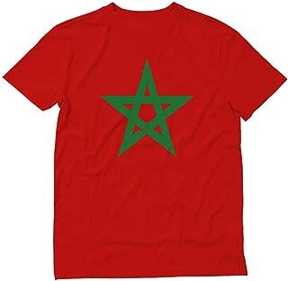 Morocco Flag Vintage Style Retro Moroccan T-Shirt