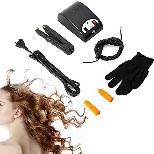 Salon Cold Fusion Machine Hair Extension Iron Haar Verlängerung Werkzeug Kit