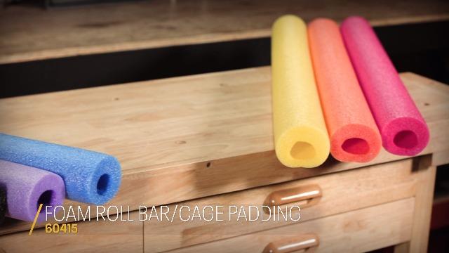 Rugged Ridge 13613.01 Polyester Full Roll Bar Cover Kit for Jeep Wrangler JKU