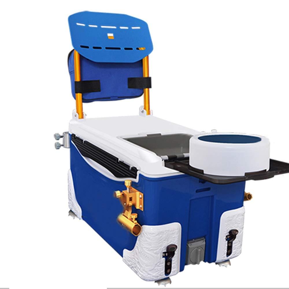 PiPisun Cubo de Agua de Pesca Caja Multifuncional portátil caña de Pescar Caja de Equipo Completo