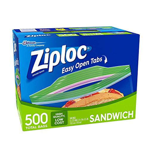 Ziploc Sandwich Bags (500 ct.)