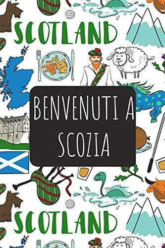 Benvenuti a Scozia: 6x9 Diario di viaggio I Taccuino con liste di controllo da compilare I Un regalo perfetto per il tuo viaggio in Scozia e per ogni viaggiatore
