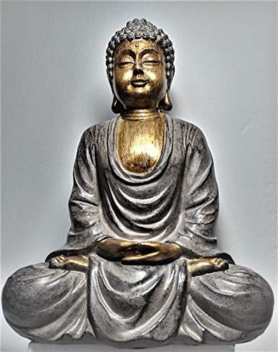 Kyncilor Estatua de Buda Dhyana Mudra (Meditacion) 24 CM