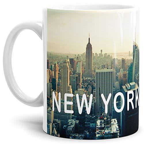 New York-Tasse Skyline - Kaffeetasse/Mug/Cup - Qualität Made in Germany