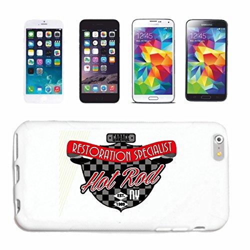 Reifen-Markt Hard Cover - Funda para teléfono móvil Compatible con Apple iPhone 5 / 5S Hotrod RESTAURACION DE ESPECIALISTA Hot Rod Coche Nos Mucle Car V8 Ruta 66 A