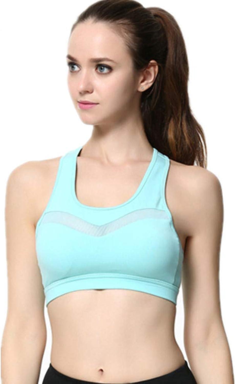 AIYUNDONG Sport-BH Laufen Top Sexy Mesh Yoga-BH Frauen Laufen Fitness Sport-BH Top-Kleidung