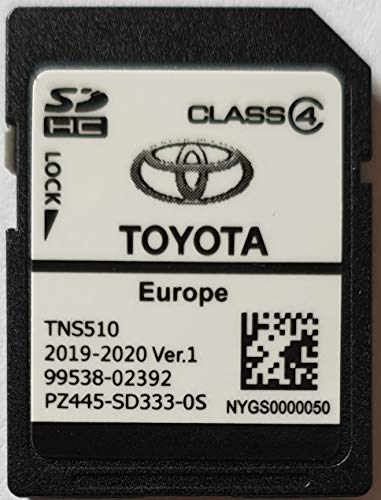 SD-kaart GPS Europe TNS510 Toyota 2019-2020 Ver.1 - PZ445-SD333-0S