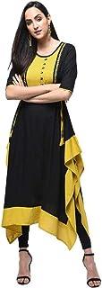 Dream Angel Fashion Women Dress Kurti Bollywood Designer Printed Anarkali Suit Kurta Ready to Wear