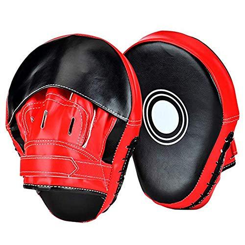 Dianmu 1 Paar Männer Training Teller Handpratzen Schlagpolster Boxhandschuhe Trainerpratzen Thaiboxen Kickboxen Boxtraining Sport Boxen Kamfsport Pads Muay Thai Karate MMA Sparring Stanzen Mitts Pads
