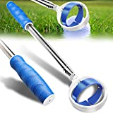 Golf Ball Retriever, Extendable Golf Ball Retriever Telescopic [Longest 78.7''/102''] Golf Accessories for Men Gift Golf Pick Up Retriever Grabber Claw Sucker Tool (9)