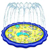 Holiky Sprinkler for Kids, Upgraded 68' Pool Toys for Kids 3-10, Toddlers Water Toys Splash Pad Mat, Toys for 3 4 5 6 7 8 9 10 Year Old Boys and Girls