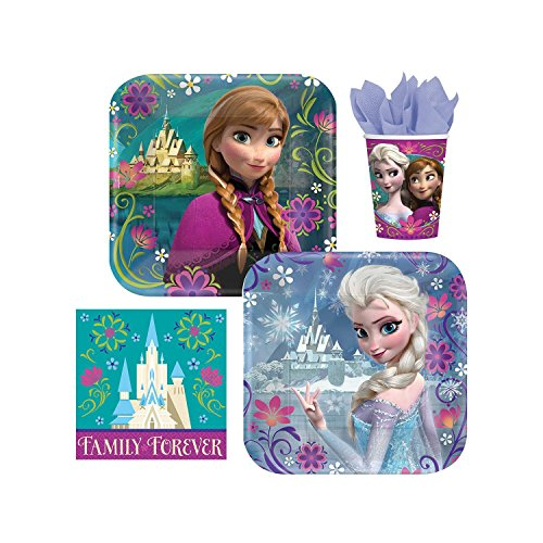 BirthdayExpress Frozen Party Pack for 16