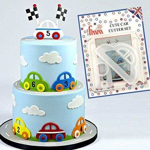 FMM CUTE CAR Cutter Set Cake Icing...