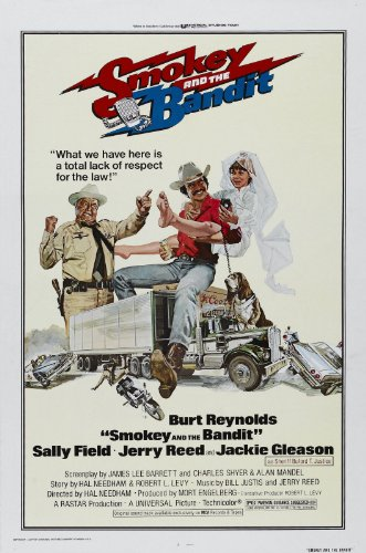 Smokey and The Bandit (1977) Movie Poster 24'x36' Certified Print with Holographic Sequential Numbering for Authenticity