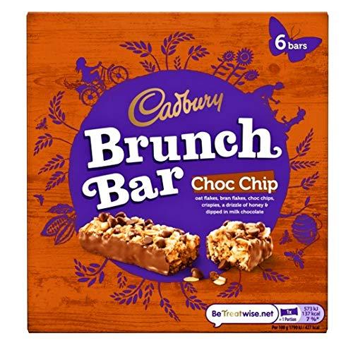 Cadbury Chocolate Chip Brunch 6x6x35g