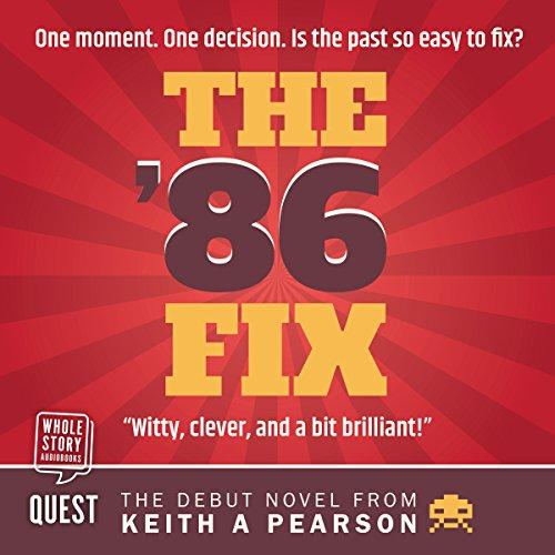The '86 Fix audiobook cover art