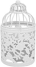 ZCDZJXB 1 X Metal Candlestick Holder Hanging Bird Cage Candles Holder Retro Iron Candlestick Lantern Home Party Decor Flam...