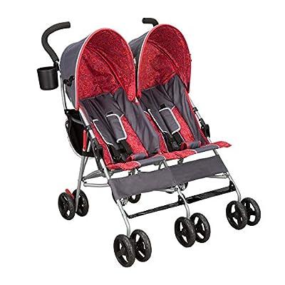 Delta Children City Street LX Side by Side Stroller, Grey by Delta Children's Products