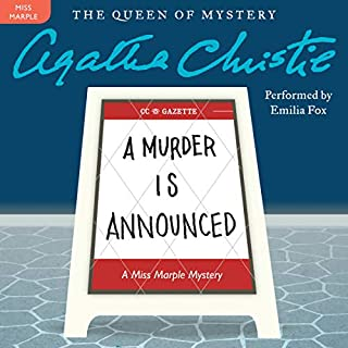 Couverture de A Murder Is Announced