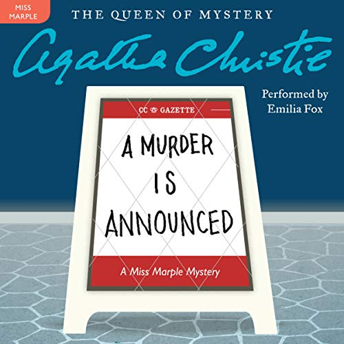 A Murder Is Announced Titelbild