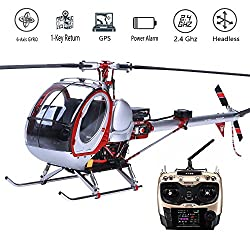 Scale RC helicopter