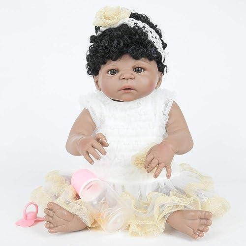 Hongge Reborn Baby Doll,Lebensechte Baby Puppe Spielzeug lebensechte Neugeborene Puppe Spielzeug Geschenk 58cm