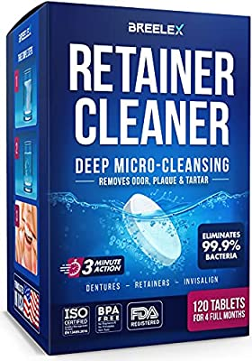 Retainer Cleaner Tablets 120