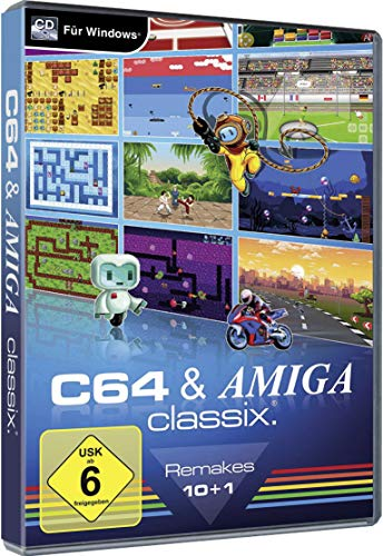 C64 & AMIGA Classix PC Game Retro Windows 10/8.1/7/Vista