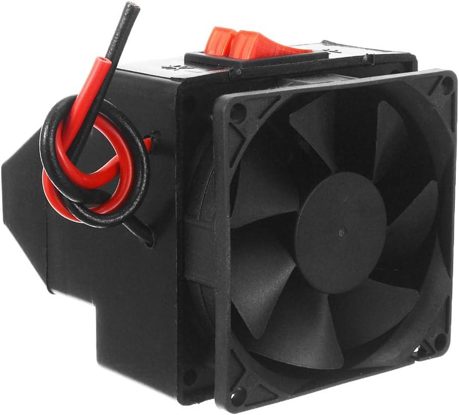 Calefactor Portátil de Coche, Trpambvia 24V 300W Calentador de Coche de Ventilador Descongelador Universal Ahorro de Energía Calentador de Air de Desempañador Rápido Calentador Interior de Coche