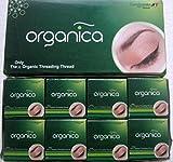 16Spule x 300m vardhaman Organica Bio Baumwolle Augenbrauen-Faden Indien -