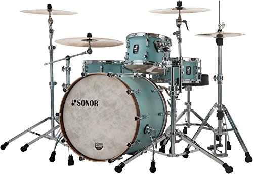 Sonor SQ1 3-Piece Shell Pack with 24 in. Bass Drum Cruiser Blue