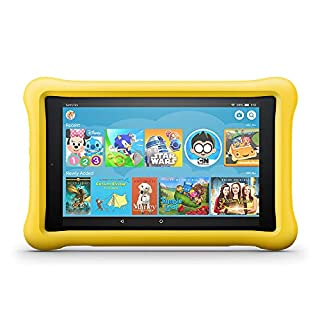 """Fire HD 8 Kids Edition Tablet, 8"""" HD Display, 32 GB, Yellow Kid-Proof Case (Previous Generation - 8th) (B0794TLZV9)   Amazon price tracker / tracking, Amazon price history charts, Amazon price watches, Amazon price drop alerts"""