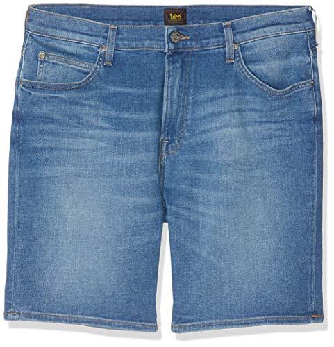 Lee Rider Short Pantalones Cortos, Azul (Jaded EU), 38W para Hombre