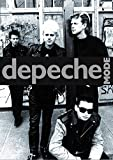 Depeche Mode Group B/W Poster Drucken (60,96 x 91,44 cm)