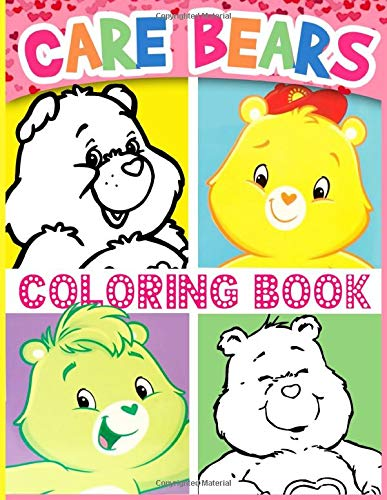 Carebear Coloring Book: Creative Coloring Books For Adult Carebear