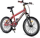 YANGHONG-Bicicleta de montaña deportiva- Kids Mountain Bikes Hard-Carbon Acero Hardtail Anti-Slip Bike Dual Disc Freno Mountain Trail Bike Boys Girls Alpine Bicycle City Comter Bicycle PerfectFor Road
